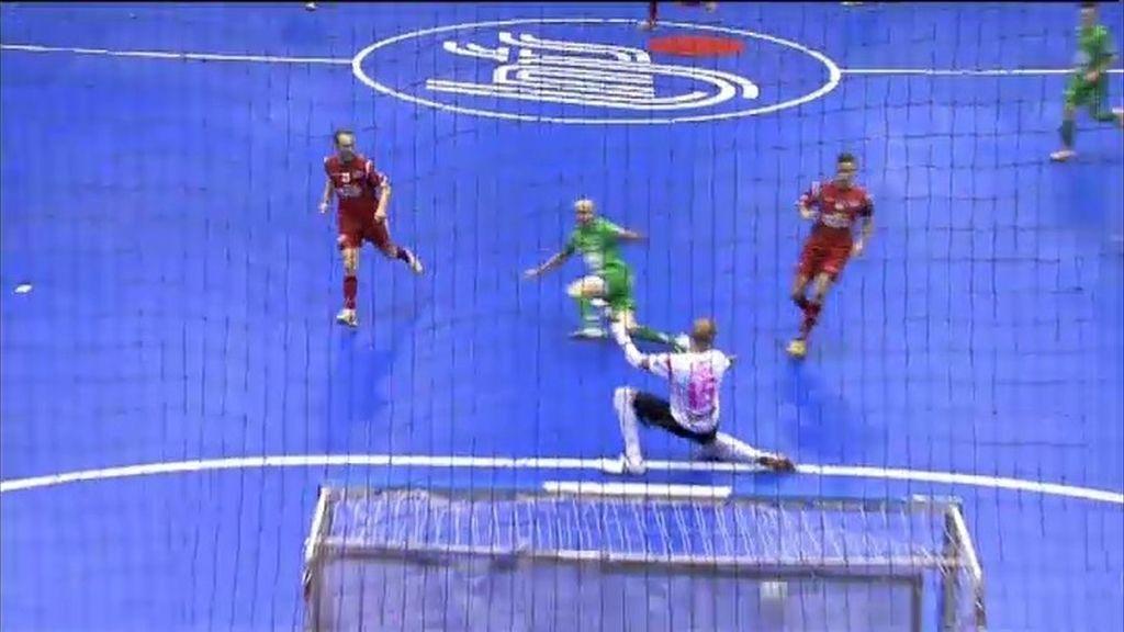 Gol de Eseverri (Navarra 1-1 ElPozo)