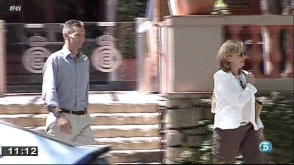 Los Duques de Palma comieron juntos antes del traslado de Cristina a Suiza
