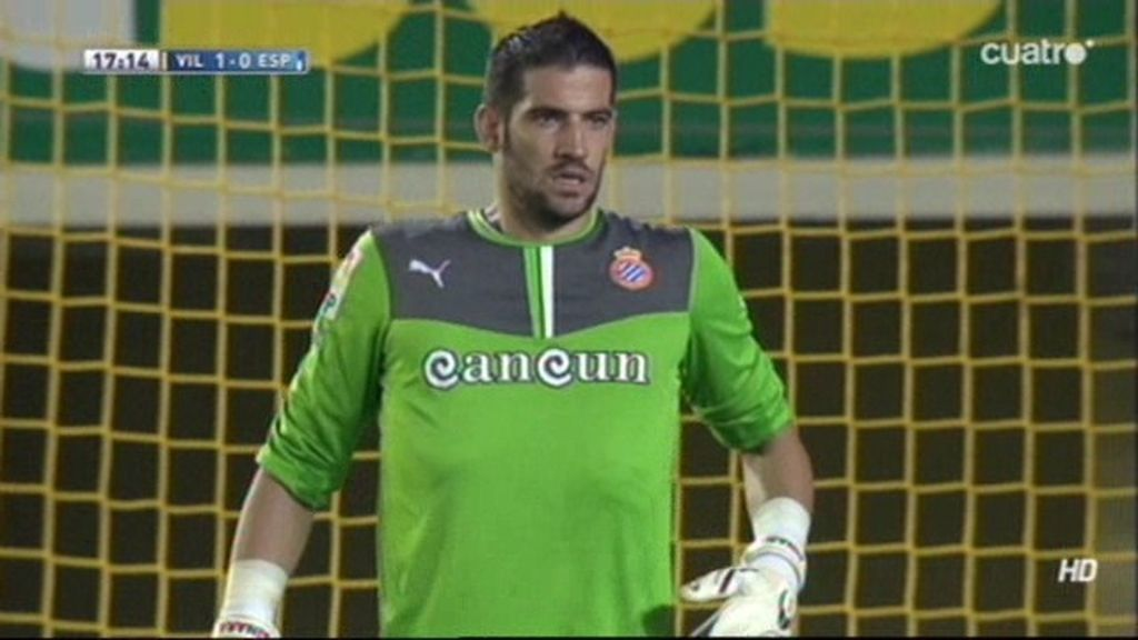 Casilla detiene al Villarreal