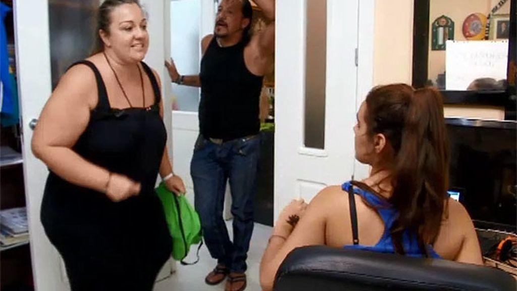 Las sábanas, motivo de discusión entre Saray y Miriam