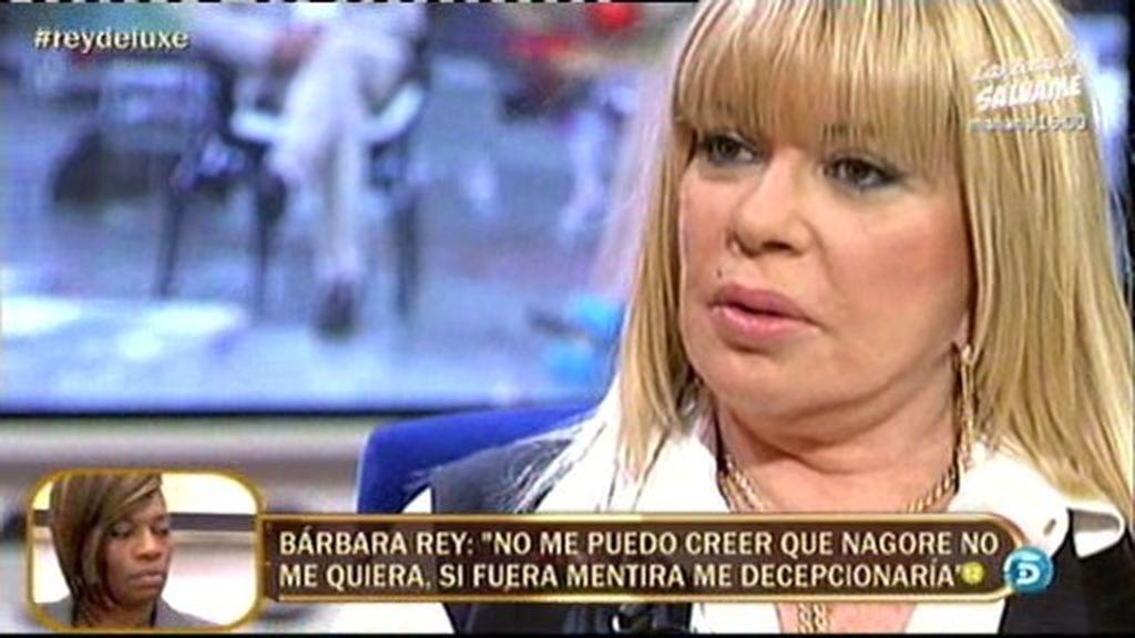 """Bárbara Rey: """"Nagore le ha confesado hoy a Sofía que está con otra chica"""""""
