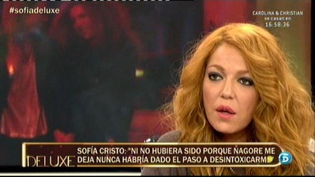 """Sofía Cristo: """"Si no hubiese sido porque me dejó Nagore no me hubiera dado cuenta"""""""