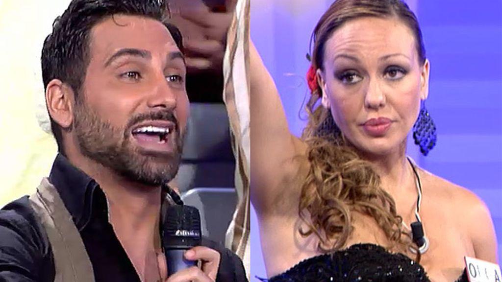 """Olga, a Morales: """"Me tienes hasta la peineta"""""""