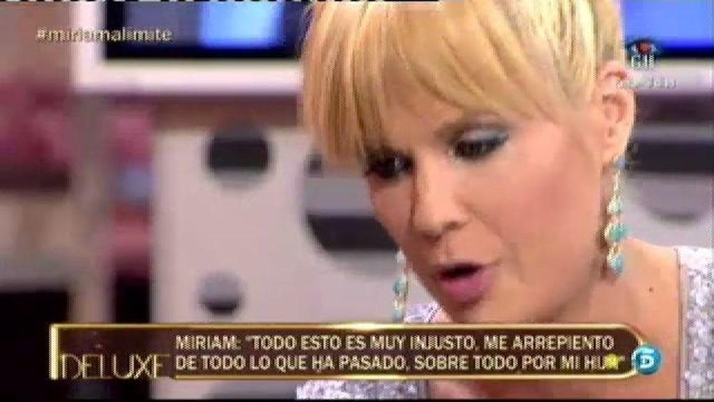 """Miriam Sánchez: """"Me arrepiento que se me haya escapado de las manos con Pipi"""""""
