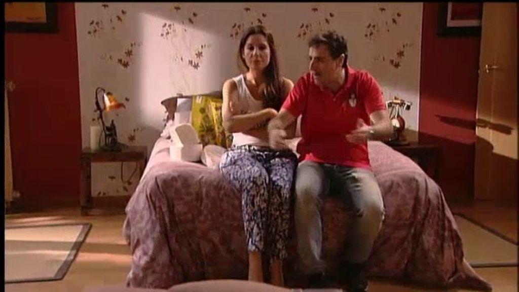 Diana Navarro y Javier Navares, un matrimonio que quiere salir de la rutina