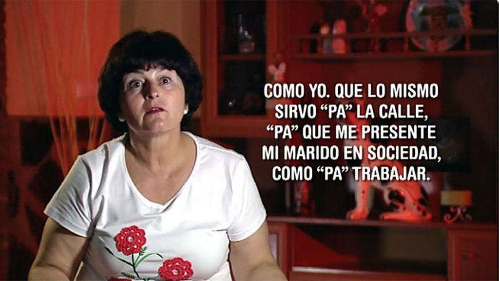 """Mari Carmen: """"Solo el cigarro, beber y fiesta"""""""