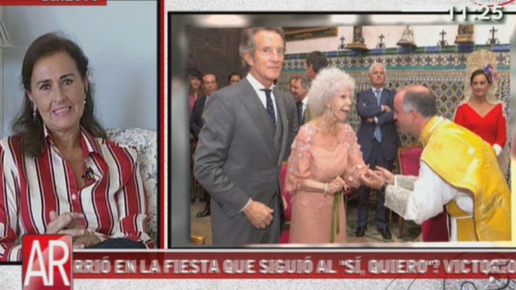 Carmen Tello, una madrina de lujo