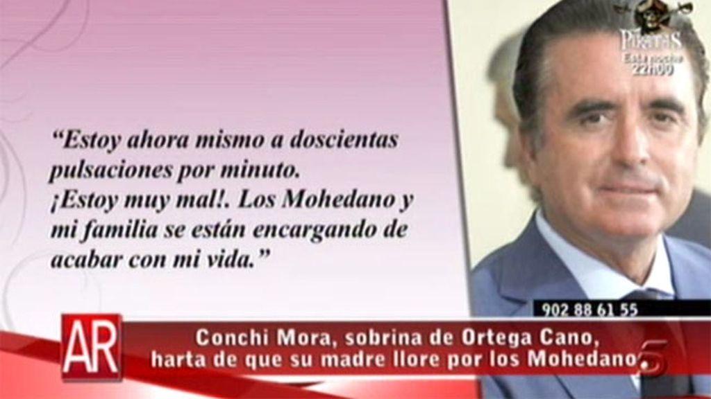 Ortega Cano, enfadado