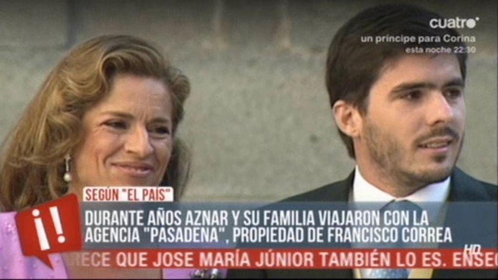La familia Aznar viajaba con una empresa de Francisco Correa