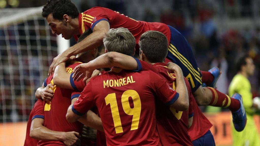 España 2 - 2 Chile: Gol de Navas
