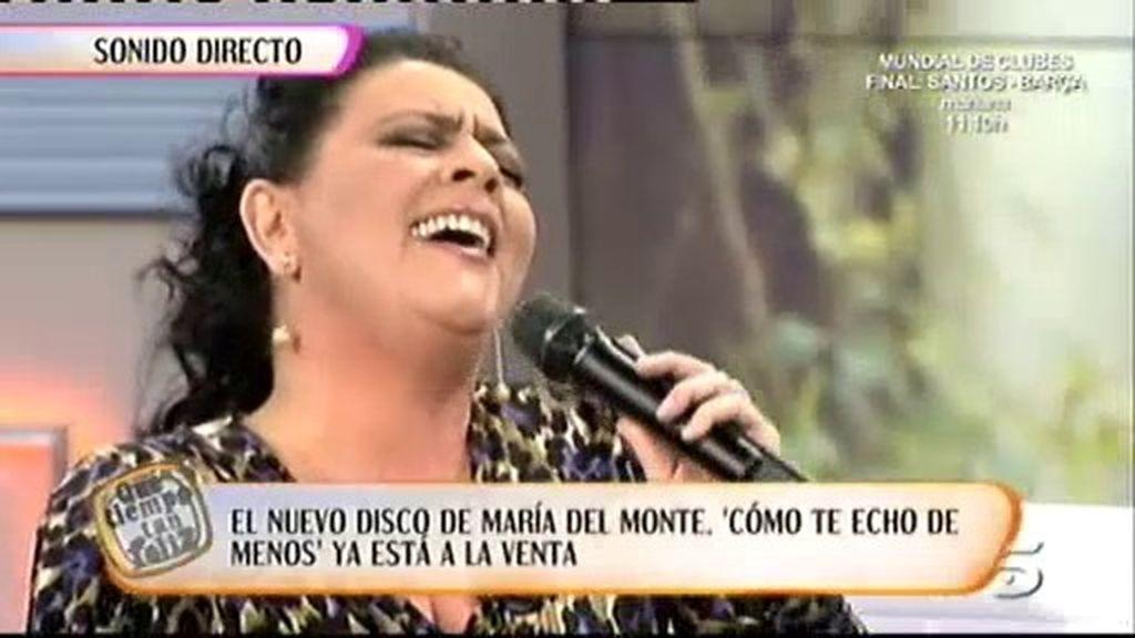 María del Monte presenta su nuevo disco
