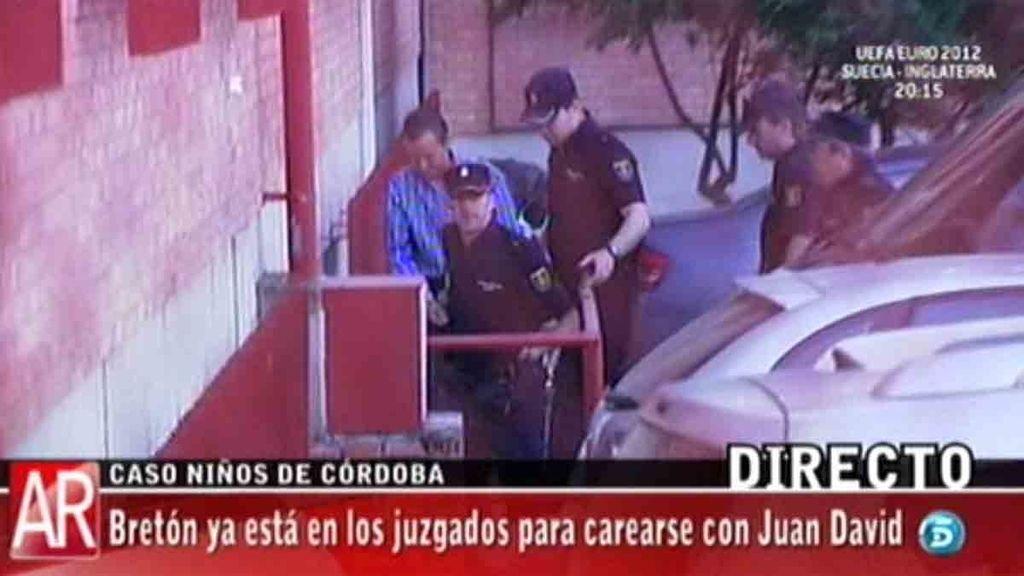 José Bretón ya está en los juzgados para carearse con Juan David