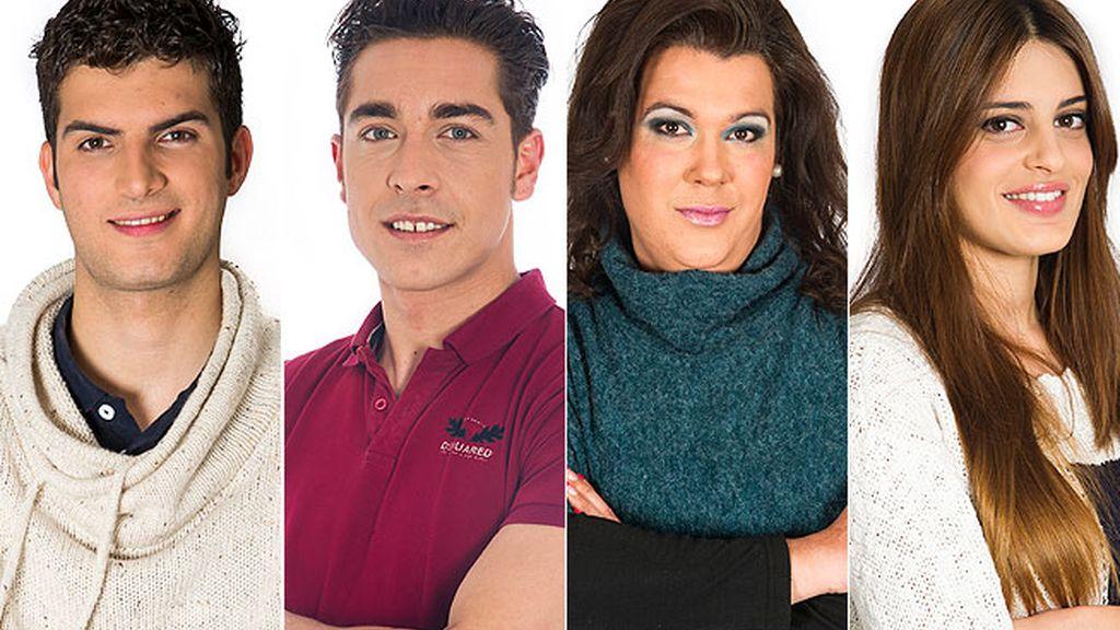 J.Carlos, Desi, Nacho y Susana, nominados