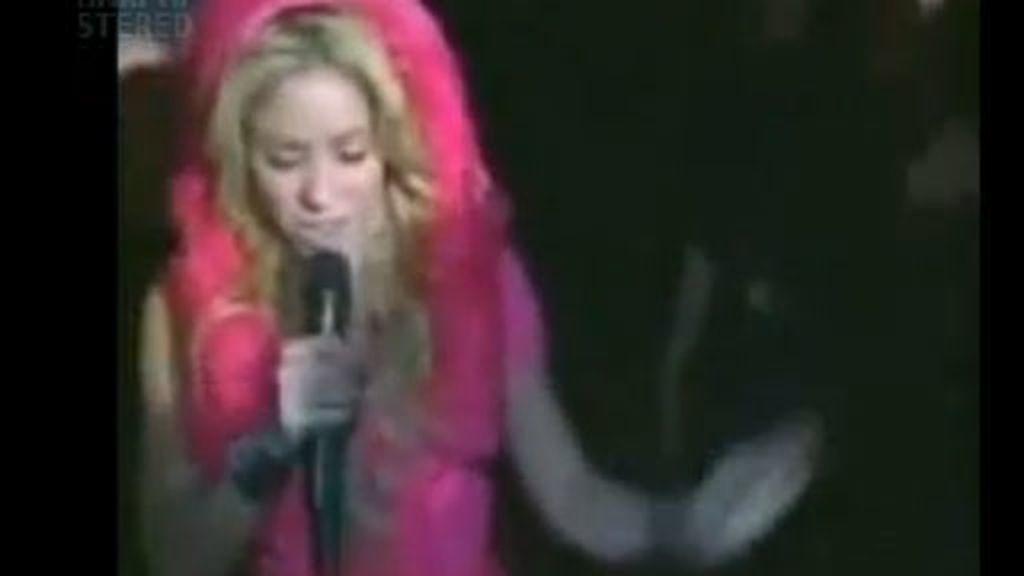 Shakira pierde el anillo