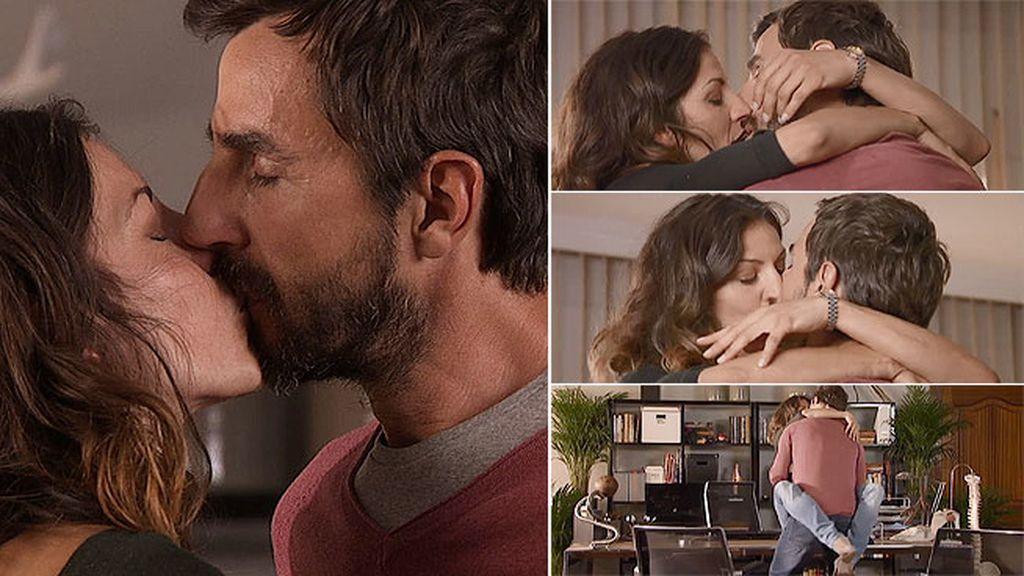 Pablo y Ana se dejan llevar por la pasión