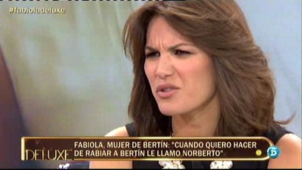 """Fabiola: """"A los dos nos gusta mandar"""""""
