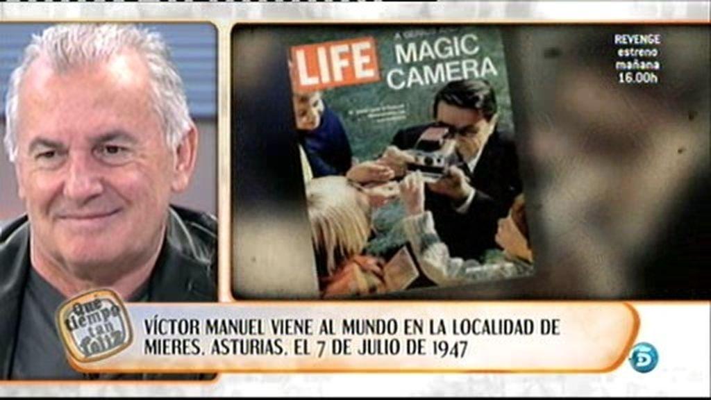 El año en que nació Victor Manuel...