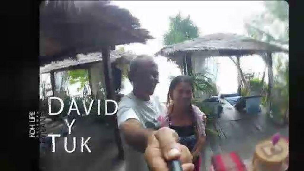 David y Tuk, una vida mirando al mar