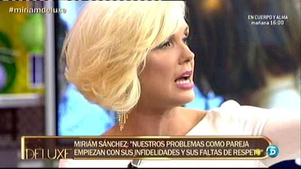 """Miriam: """"Me enamoré muy rápido de Pipi"""""""