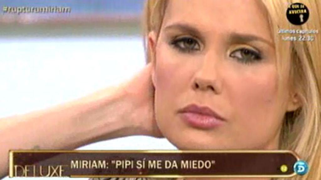 """Miriam: """"Tuve consumos puntuales de droga"""""""