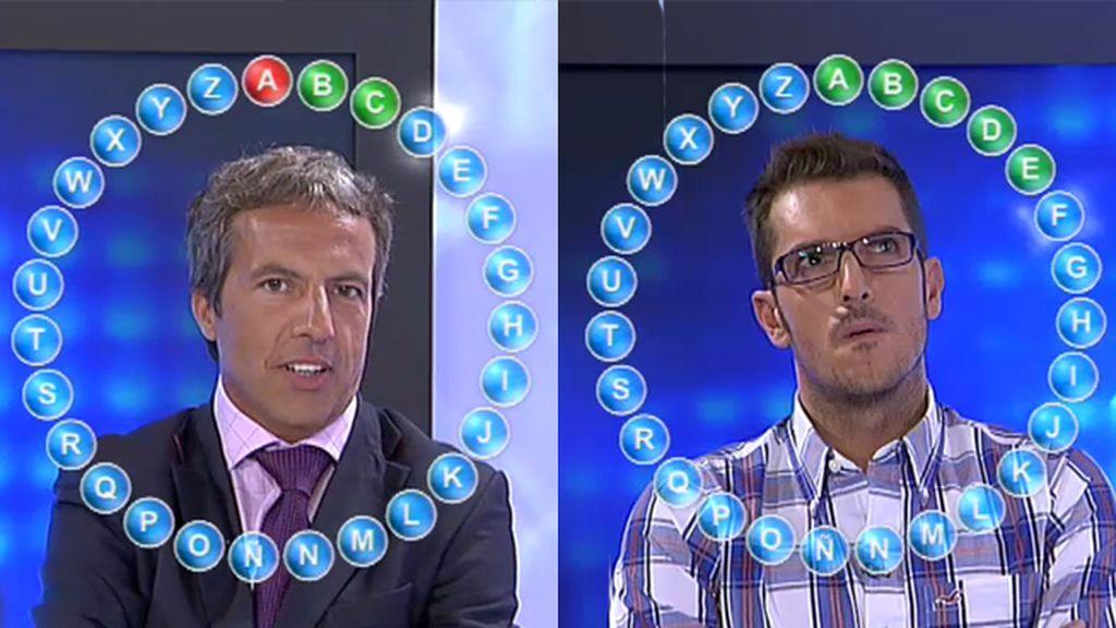 Látigo Serrano y Cristóbal Soria se pican en un 'Tikipalabra' sobre Bale