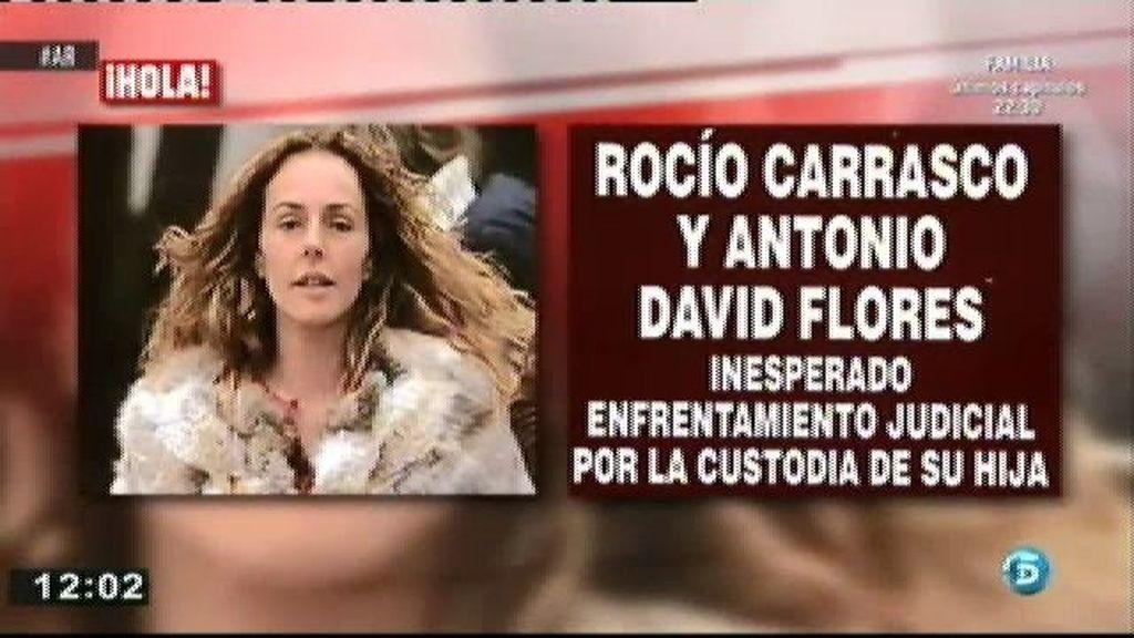 Antonio David pide la custodia de su hija Rocío, según la revista 'Hola'
