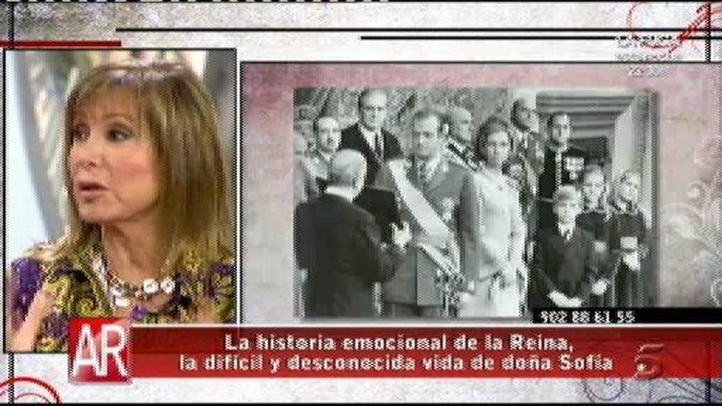 La reina pilló a Don Juan Carlos con una 'amiga'
