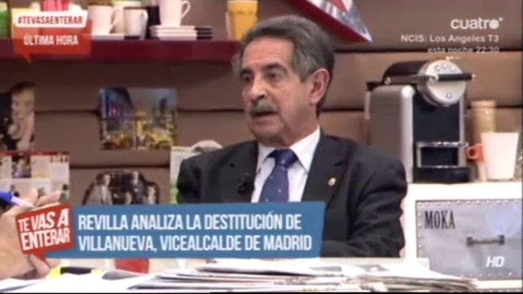 """Revilla, sobre el 'Madrid Arena': """"Estamos ante una gigantesca chapuza"""""""
