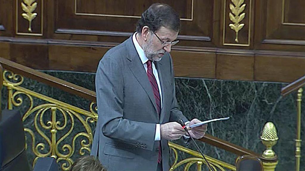 """Mariano Rajoy: """"Siempre que podamos, seguiremos subiendo las pensiones"""""""