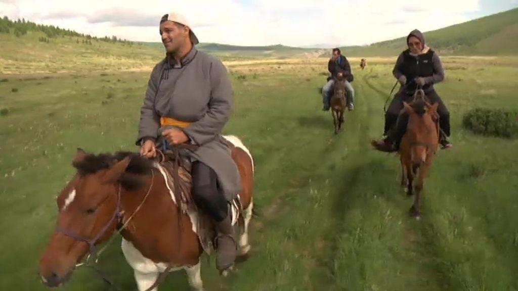 Cruzando Mongolia a caballo