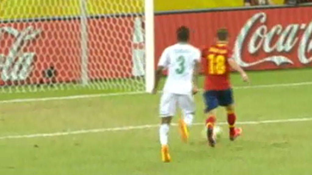 Gol: Nigeria 0-3 España (min.88)