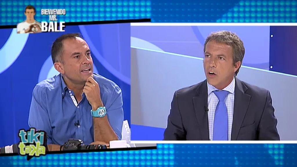 """Cristóbal Soria: """"El fichaje de Bale ha sido el atraco del siglo"""""""