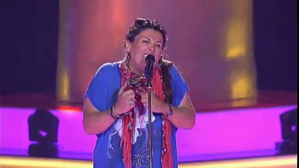 La actuación de Estela: 'Válgame Dios'