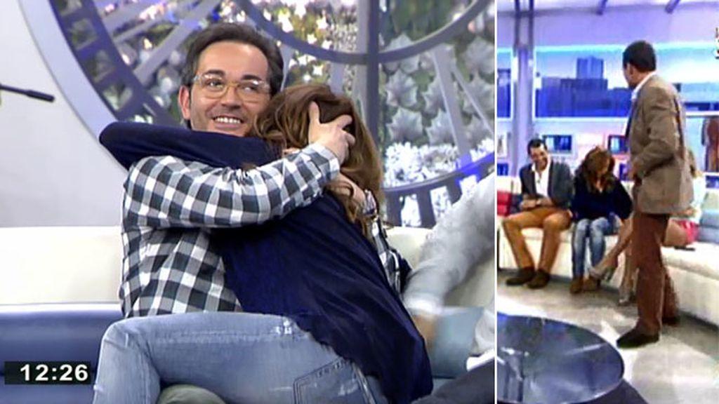 Alessandro Lequio 'amenaza' a María Patiño con enseñarle sus encantos