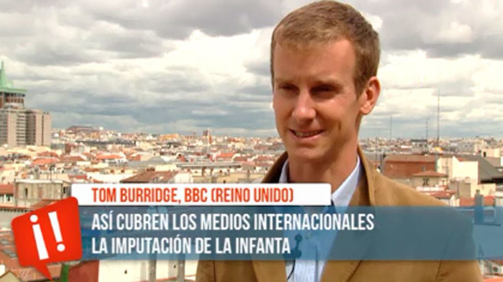 Los medios internacionales abren con la noticia de la imputación de la Infanta Cristina