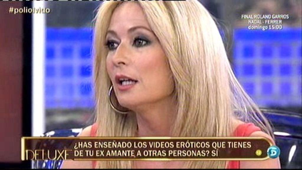 Olvido Hormigos no se masturbó ante un colaborador de Telecinco