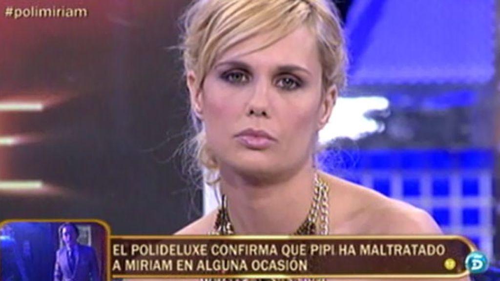 El 'poli-deluxe' confirma que Pipi le ha maltratado psicológicamente