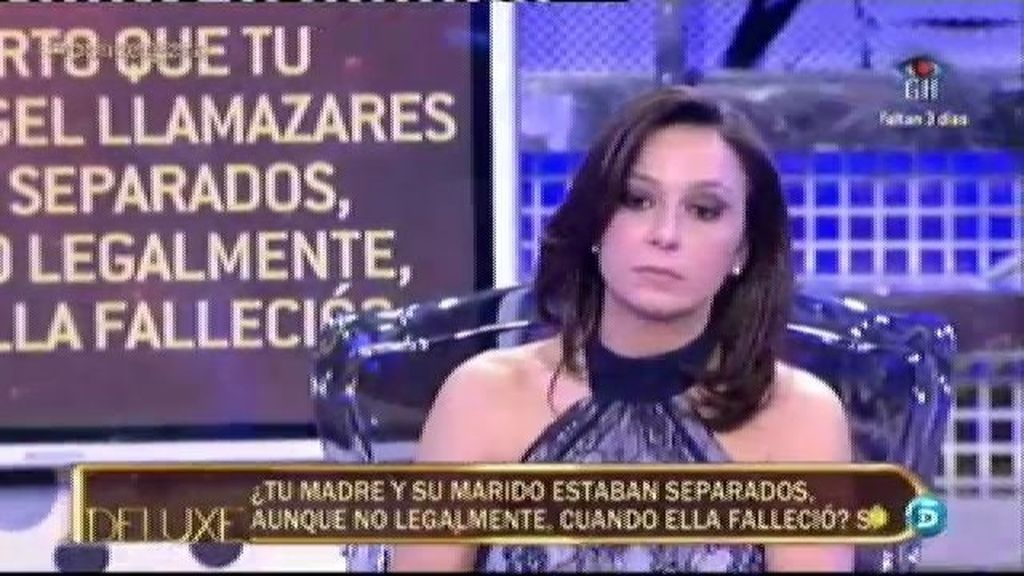 Mónica Vergara no ha recibido nada de la herencia de su madre