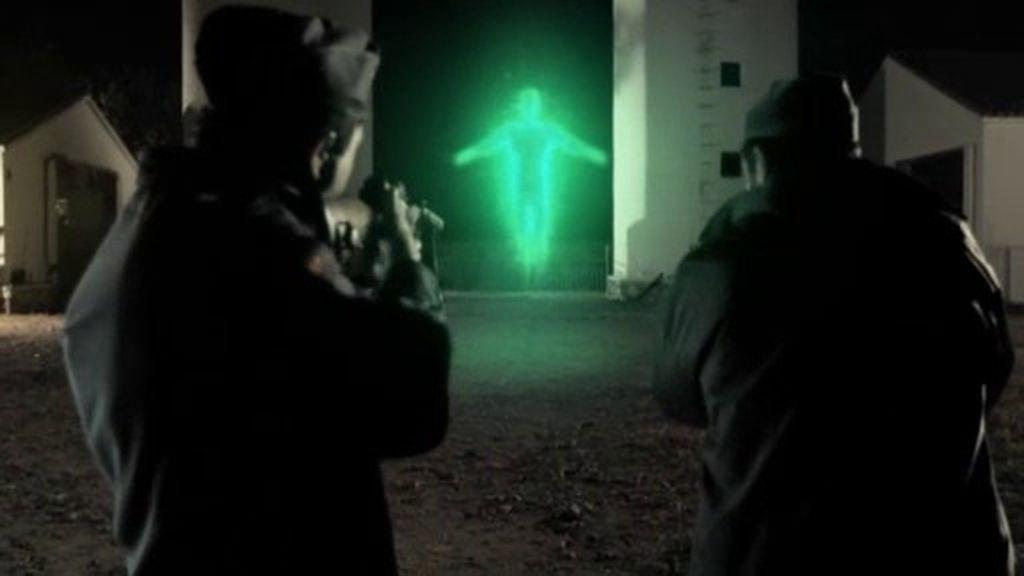 """Trejo: """"Vimos una figura suspendida en el aíre que desprendía una luz fluorescente"""""""