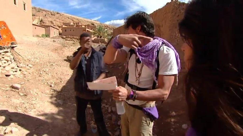 Los morados, perdidos en la kasbah