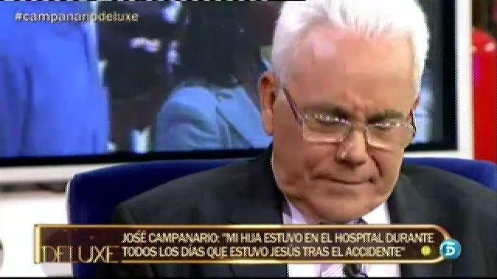 """José Campanario: """"No voy a decir si Jesús pidió a Belén que fuera a verle al hospital"""""""