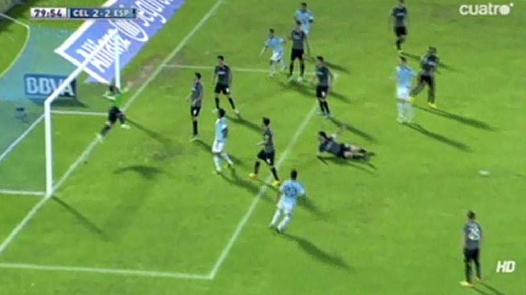 Casilla vuela para evitar la derrota del Espanyol