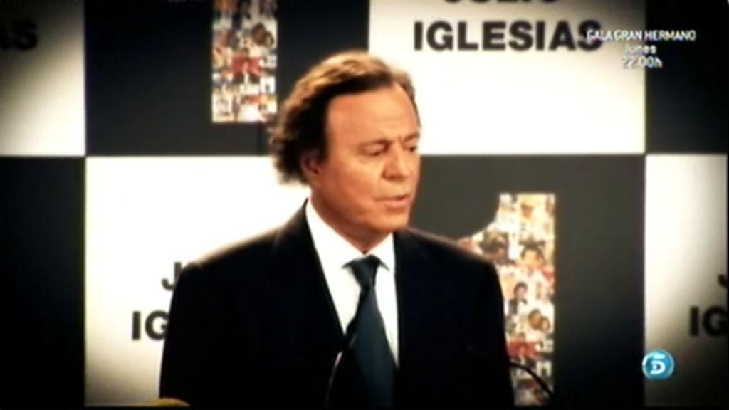 Julio Iglesias se retira de los escenarios
