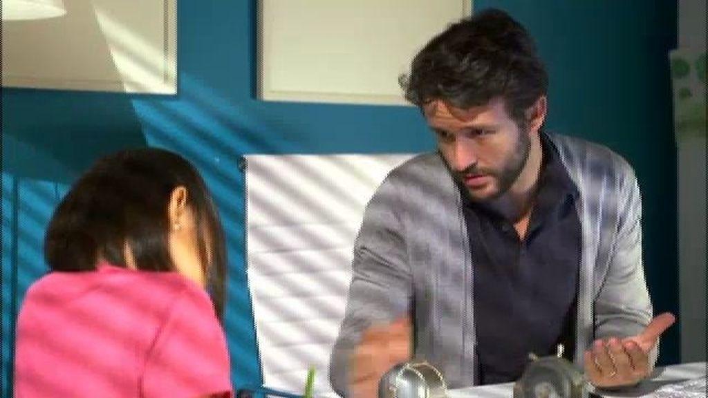 Miguel envía la novela de Malena