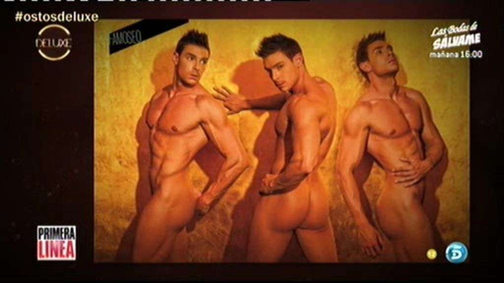 Jacobo Ostos, al desnudo en El Deluxe