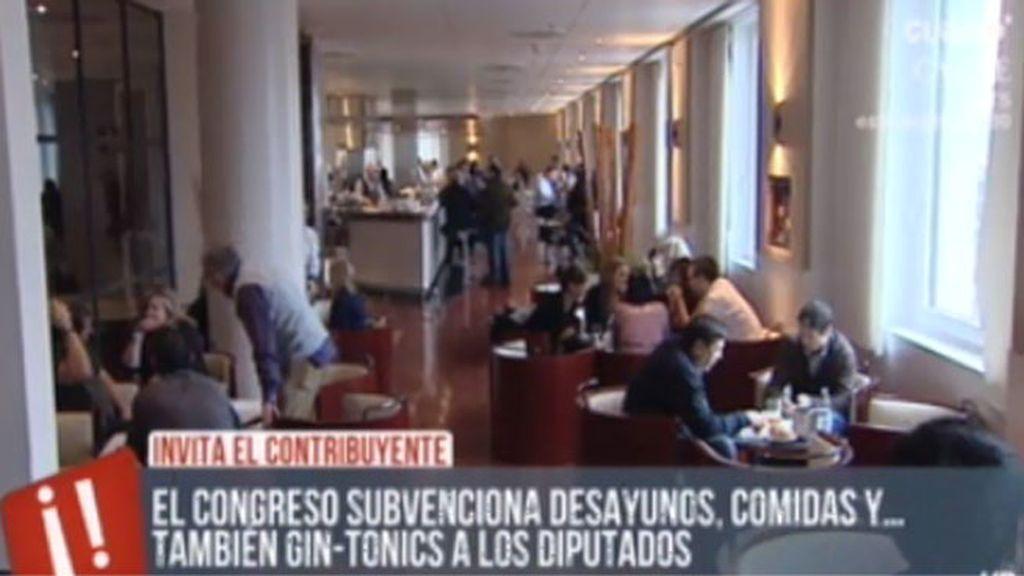 El bar más barato de España: la cafetería del Congreso de los Diputados