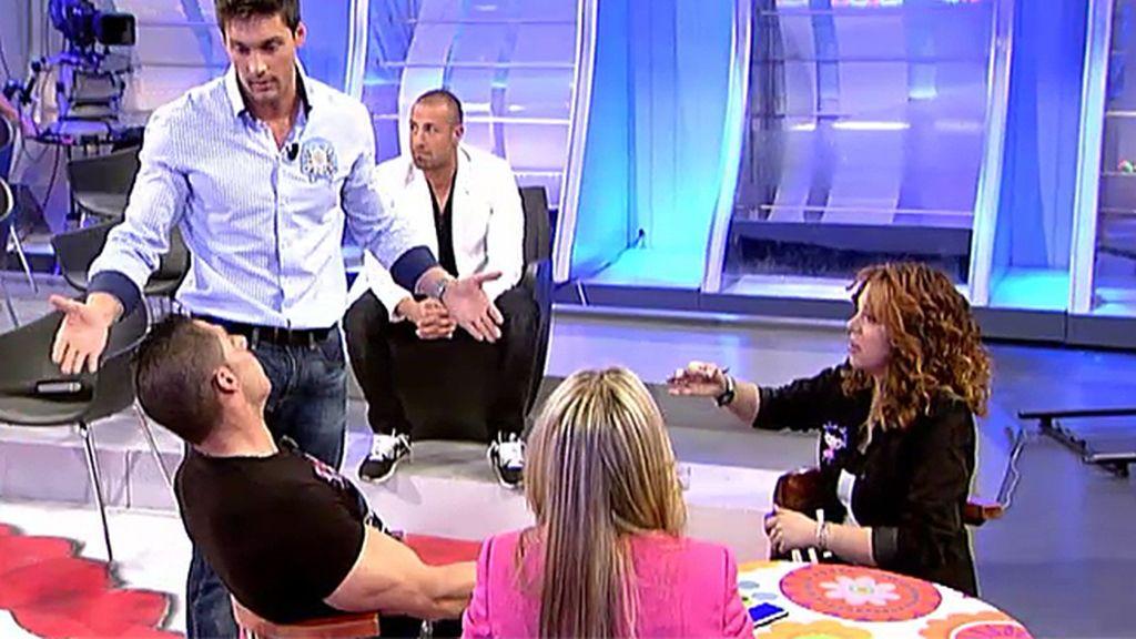 Vicente y su hermana se pican con Juanjo