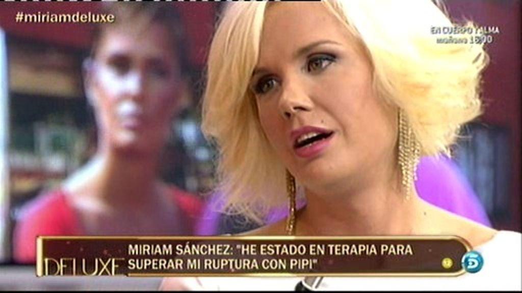 "Miriam: ""He superado mi ruptura con Pipi"""
