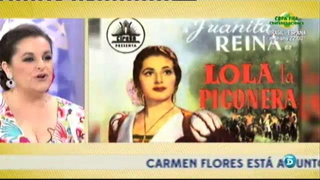 Lola Reina desvela anécdotas de Juanita Reina en '¡Qué tiempo tan feliz!'