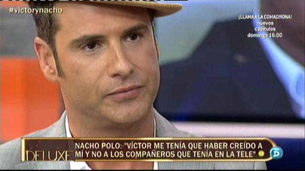 """Nacho Polo: """"Estuve enamorado de Víctor Sandoval hasta el final"""""""